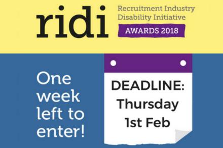 RIDI Awards 1 week left to enter