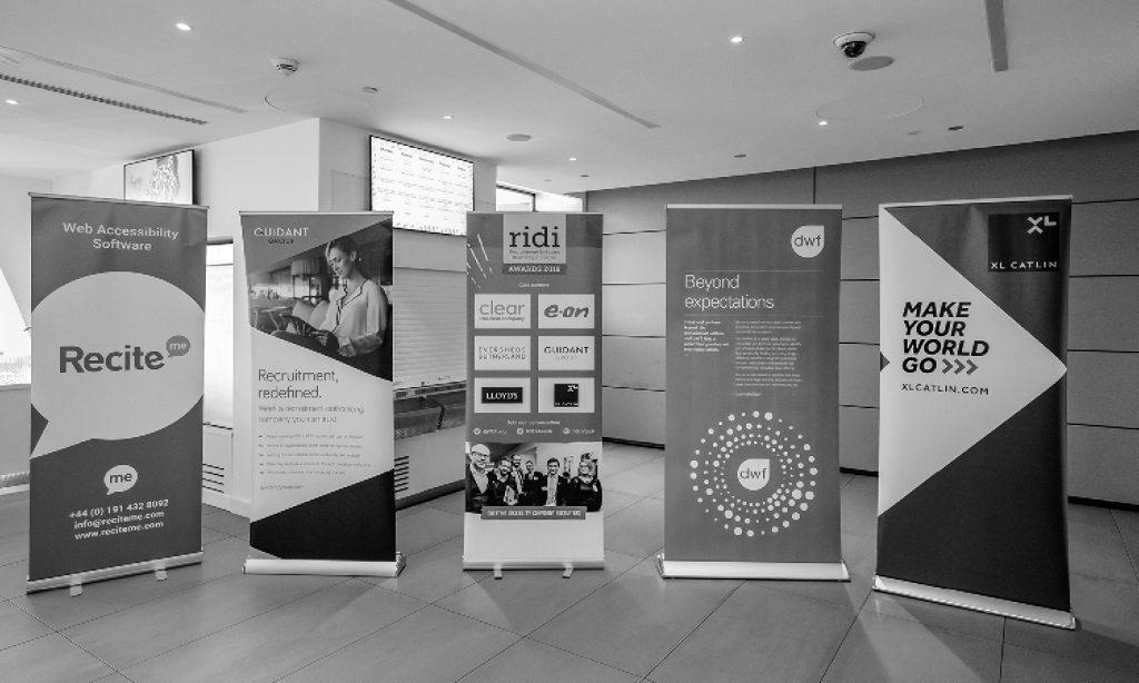 RIDI Awards sponsor banners