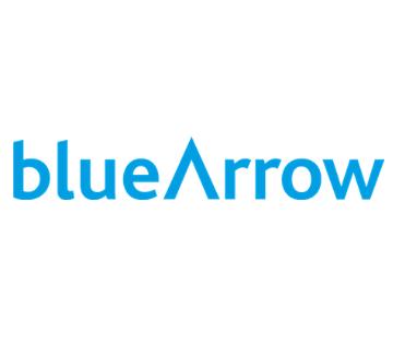 Blue Arrow - opens in new window
